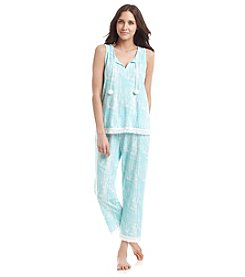 PJ Couture Capri Pajama Set