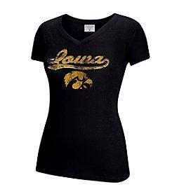 J. America® NCAA® Iowa Hawkeyes Women's Tracy Short Sleeve Tee
