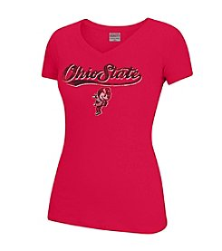 J. America® NCAA® Ohio State Buckeyes Women's Tracy Short Sleeve Tee