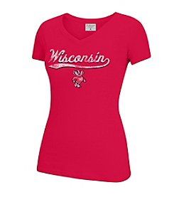 J. America® NCAA® Wisconsin Badgers Women's Tracy Short Sleeve Tee