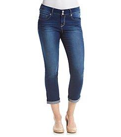 Wallflower® Curvy Pushup Crop Jeans