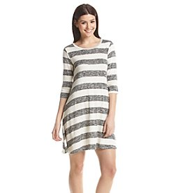 Living Doll® Striped Swing Knit Dress