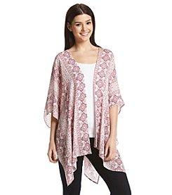 Pink Rose® Printed Kimono