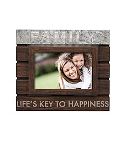 New View Planked Sentiment Frame - Family
