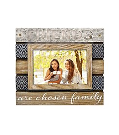 New View Planked Sentiment Frame - Friends
