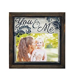 New View Glass Float Frame - You & Me