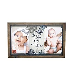 New View Glass Float Frame - Love Life Live
