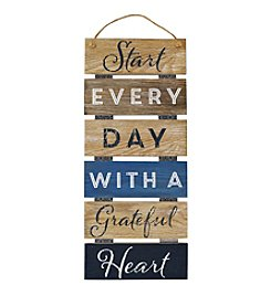 New View Hanging Plank Sentiment