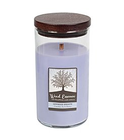 WoodWick® Wood Essence Large Lavender Wreath Candle