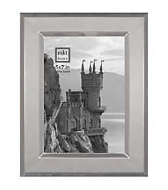 MKT@Home Brushed Silver Essex Photo Frame