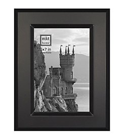 MKT@Home Brushed Black Essex Photo Frame