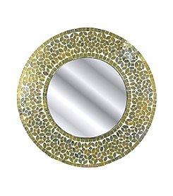 Fetco® Round Mosaic Mirror