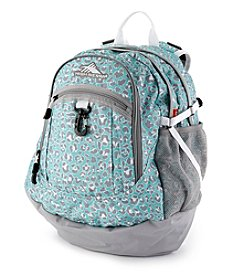 High Sierra® Mint Leopard Fatboy Backpack