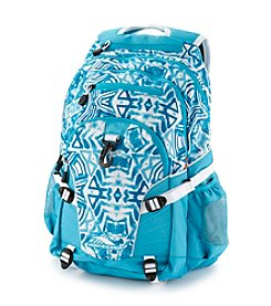 High Sierra® Shibori Tropic Teal Loop Backpack