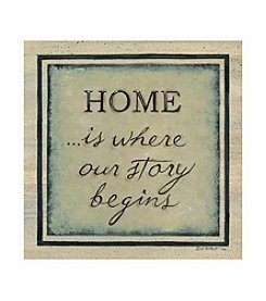 Thirstystone® Home Is Where Our Story Begins Set Of 4 Coasters