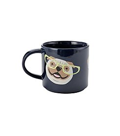 John Bartlett Pet Puppies with Glasses Mug