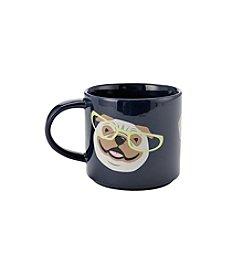 John Bartlett Pet Puppies with Glasses Mug