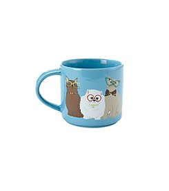 John Bartlett Pet Cats with Glasses Mug