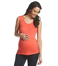 Three Seasons Maternity™ Solid Twist Back Tank
