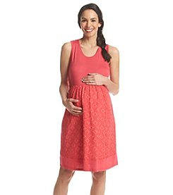 Three Seasons Maternity™ Crochet Tank Dress