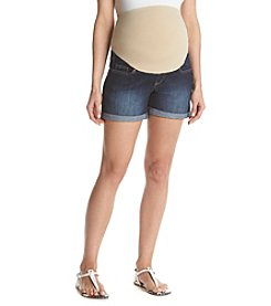 Three Seasons Maternity™ Roll Cuff Denim Shorts