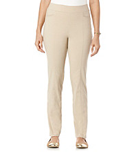 Rafaella® Solid Power Stretch Pants