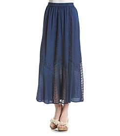 Studio West Georgette Long Skirt