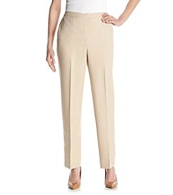 Alfred Dunner® Lavender Fields Solid Pants