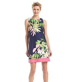 Taylor Dresses Floral Shift Dress
