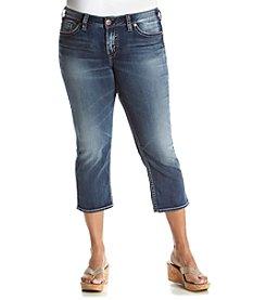 Silver Jeans Co. Plus Size Suki Mid Capri Jeans