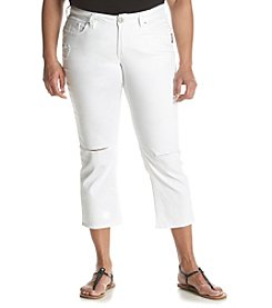 Silver Jeans Co. Plus Size Suki High Capri Jeans