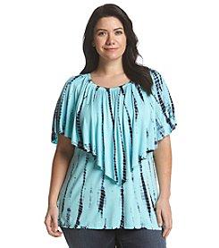 Chelsea & Theodore® Plus Size Popover Tunic
