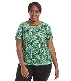Exertek® Plus Size Splash Short Sleeve Tee