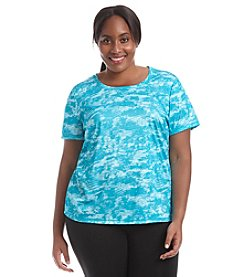 Exertek® Plus Size Wave Short Sleeve Tee