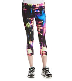 Calvin Klein Performance Techno Printed Crop Pants