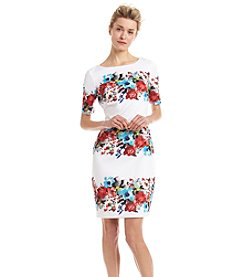 Sangria™ Floral Sheath Dress