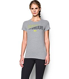 Under Armour® Short Sleeve Crew Neck Tee