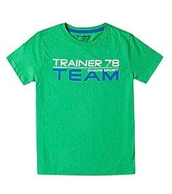 Chaps® Boys' 2T-7 Short Sleeve Sport Tee