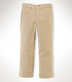 Chaps® Boys' 2T-7 Flat Front Pants
