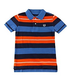 Chaps® Boys' 2T-7 Short Sleeve Striped Polo