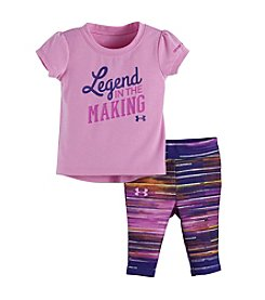 Under Armour® Baby Girls' Legend In The Making Tee And Leggings Set