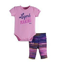 Under Armour® Baby Girls' Legend In The Making Bodysuit And Leggings Set
