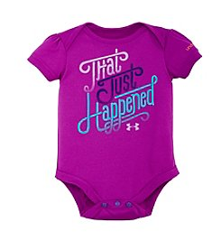 Under Armour® Baby Girls' That Just Happened Bodysuit