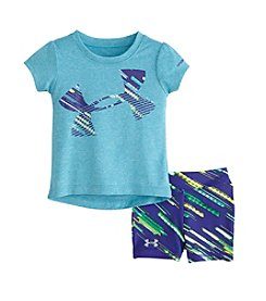 Under Armour® Baby Girls' Lumos Tee And Shorts Set