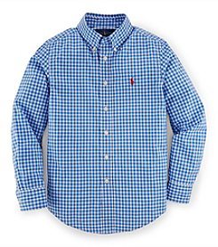 Ralph Lauren Childrenswear Boys' 8-20 Long Sleeve Button Down Shirt