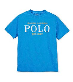 Ralph Lauren Childrenswear Boys' 8-20 Short Sleeve Logo Tee