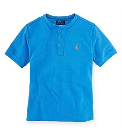 Ralph Lauren Childrenswear Boys' 8-20 Short Sleeve Henley Shirt