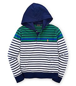 Ralph Lauren Childrenswear Boys' 8-20 Striped Hoodie