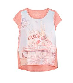 Jessica Simpson Girls' 7-16 Carnival Graphic Tee