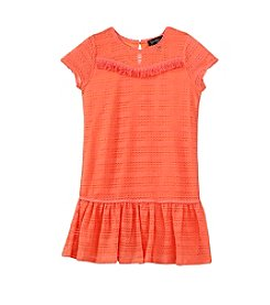 Jessica Simpson Girls' 7-16 Textured Drop Waist Dress